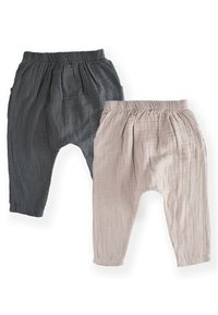 Cigit - PACK MUSLIN  SET - Cargo trousers - anthracite - 1