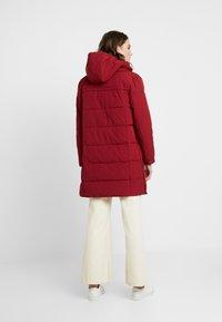 Esprit - PADDED COAT - Winter coat - dark red - 2