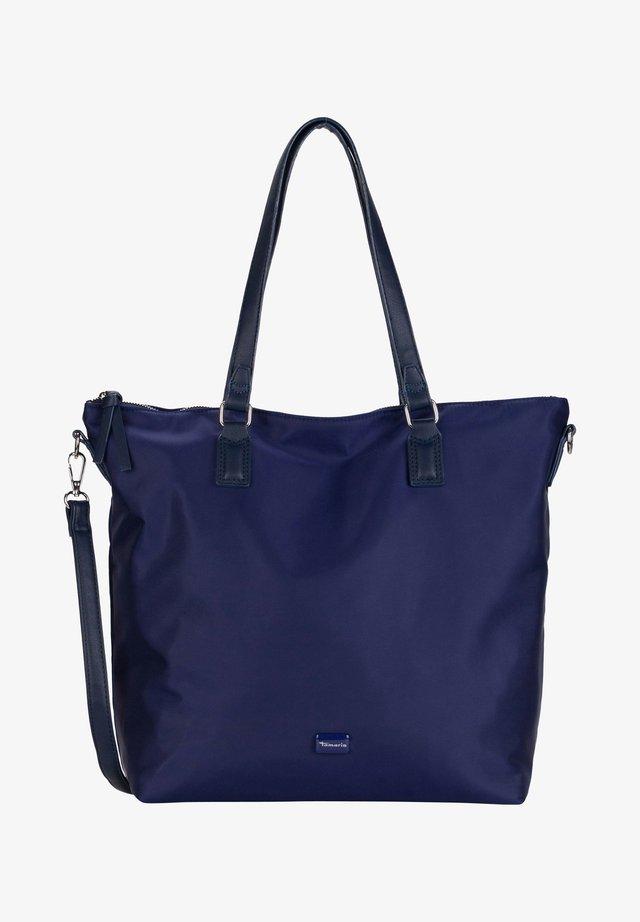 ANNA SHOPPER TASCHE - Shopping Bag - blue