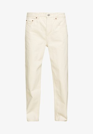 MEG HIGH MOM WASHED BACK - Straight leg jeans - ecru