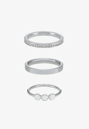 CLASSICS 3 PACK - Bague - silber-coloured