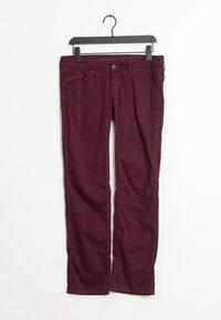 Wrangler - Trousers - red - 0
