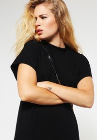 mbyM - LINEA - Jersey dress - black - 3