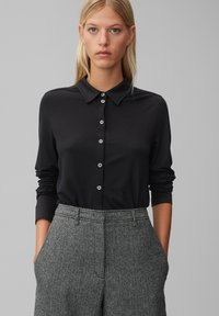 Marc O'Polo - Button-down blouse - black - 0