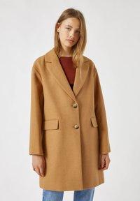 PULL&BEAR - Short coat - camel - 0