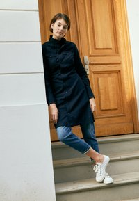 G-Star - WESTERN SLIM FRILL DRESS - Shirt dress - rinsed - 3