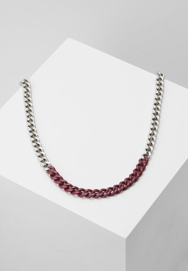 COLOUR POP CHAIN - Necklace - red
