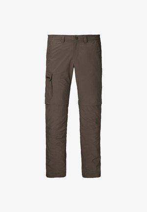 AARHUS ZIP OFF - Outdoor trousers - braun