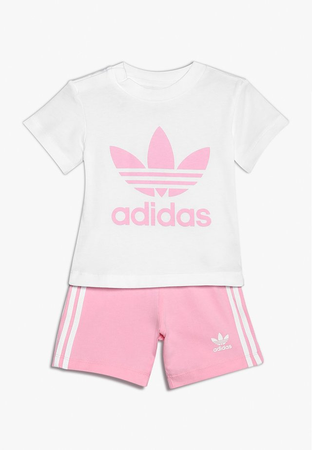 SET UNISEX - Short - white/light pink
