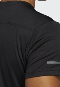 adidas Performance - RESPONSE AEROREADY RUNNING SHORT SLEEVE TEE - T-shirt imprimé - black - 7