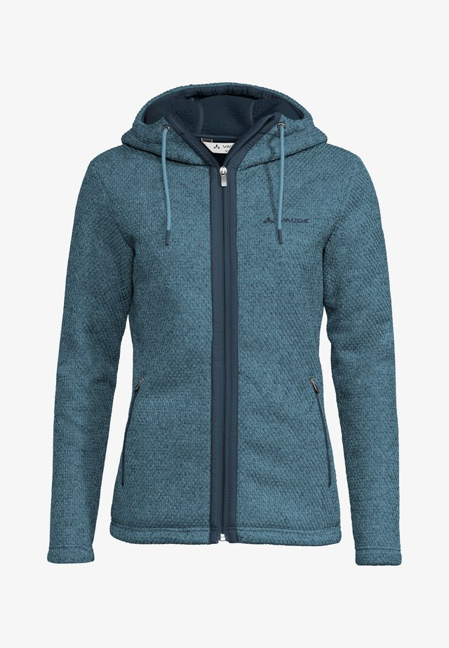 Fleece jacket - blue gray