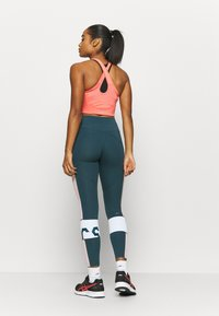 ASICS - COLOR BLOCK CROPPED  - Tights - magnetic blue - 2