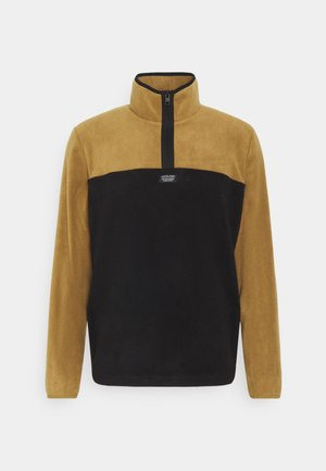 JCOMICK HALF ZIP - Fleece jumper - kangaroo/black