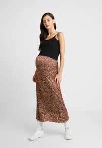 Esprit Maternity - SPAGHETTI NURSING - Toppi - black - 1