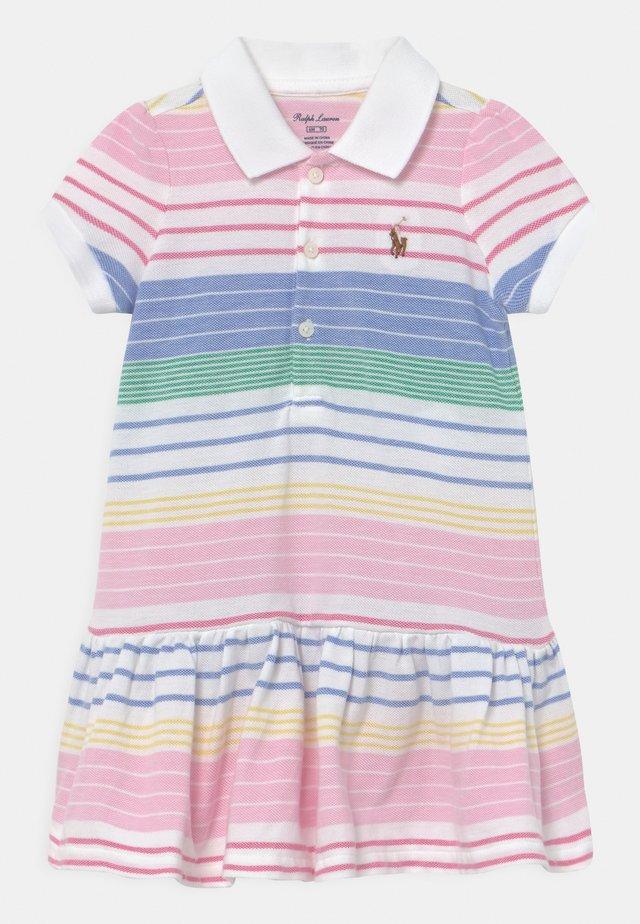 Denní šaty - green/pink/multi