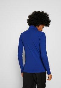 J.CREW - TISSUE TURTLENECK - Bluzka z długim rękawem - oxford royal - 2