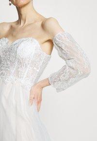 Luxuar Fashion - Festklänning - ivory/nude - 3