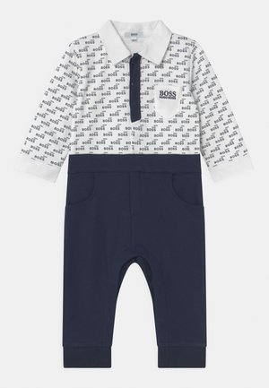 ALL IN ONE - Jumpsuit - whitenavy