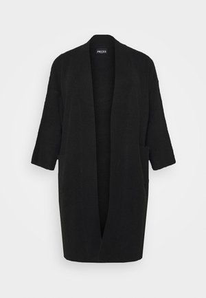 PCROW COATIGAN - Strikjakke /Cardigans - black