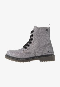 TOM TAILOR - Veterboots - silver - 1