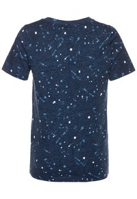 Abercrombie & Fitch - BASIC NOVELTY  - Camiseta estampada - blue