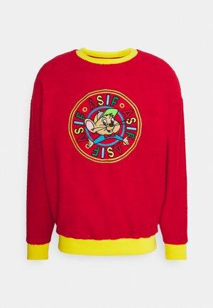 UNISEX RIZZO MOUSE SWEATSHIRT - Sweatshirt - red