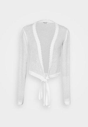 OVERLAP - Cardigan - off white