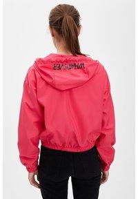 DeFacto - DEFACTO WOMAN LIGHT PINK - Zip-up hoodie - pink - 1