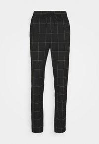 ONSLINUS LONG CHECK  - Kalhoty - black