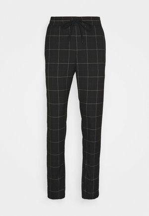 ONSLINUS LONG CHECK  - Pantalon classique - black