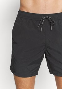 Burton Menswear London - CORE SWIM     - Swimming shorts - black - 3