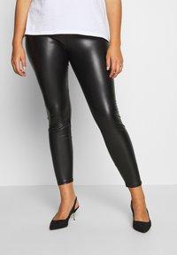 Dorothy Perkins Curve - CURVE  - Leggings - Trousers - black - 0
