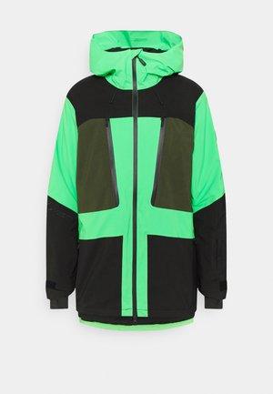 PSYCHO TECH JACKET - Snowboard jacket - poison green