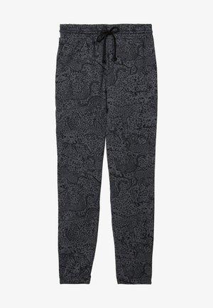 Tracksuit bottoms - grey cheetah print