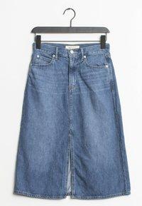 GAP - Spódnica trapezowa - blue - 0