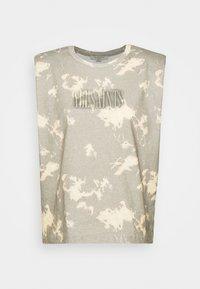 CONI TANK - Print T-shirt - grey