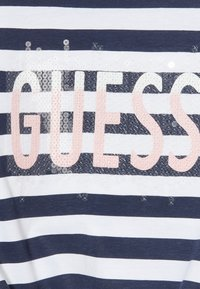 Guess - STRIPES - Top - white and blue strip - 4