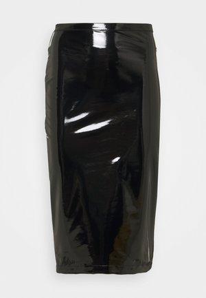 SKIRT - Pencil skirt - nero