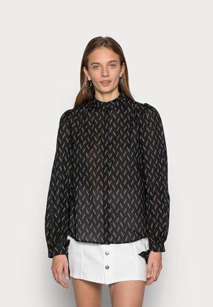 NASH GATHER - Long sleeved top - black