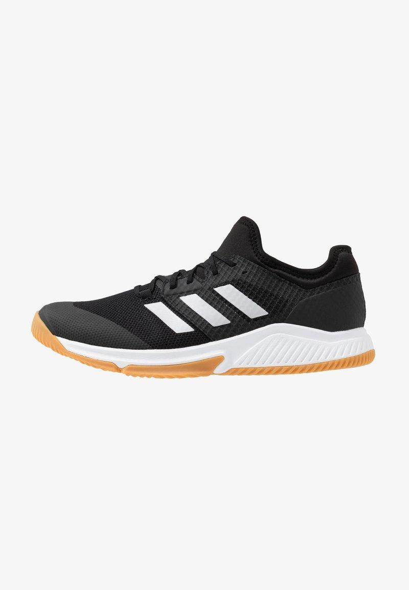 adidas Performance - COURT TEAM BOUNCE - Boty na házenou - core black/silver metallic/footwear white
