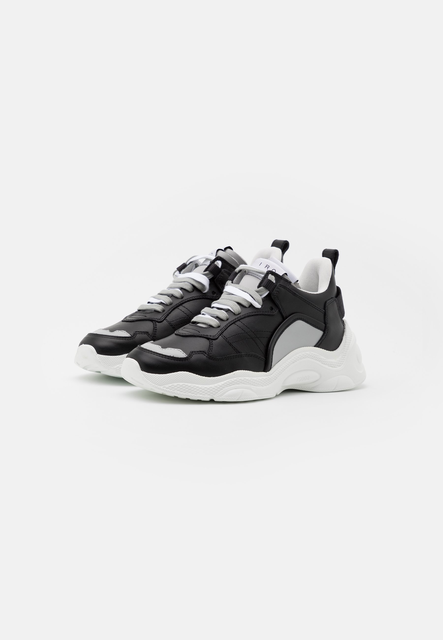 Iro Curverunner - Sneakers Black/grey