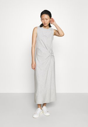 TWIST FRONT - Cocktail dress / Party dress - heather grey