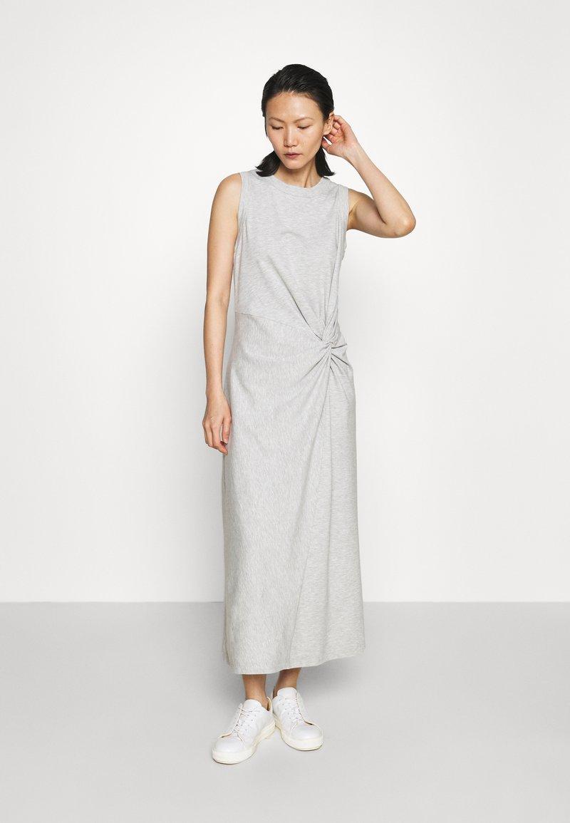 Club Monaco - TWIST FRONT - Cocktail dress / Party dress - heather grey