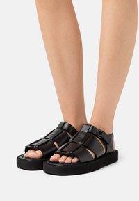 By Malene Birger - KLEVA - Platform sandals - black - 0