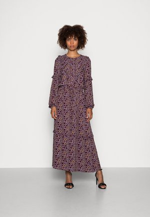 TABITHA FRILL MAXI DRESS - Długa sukienka - amethyst grey