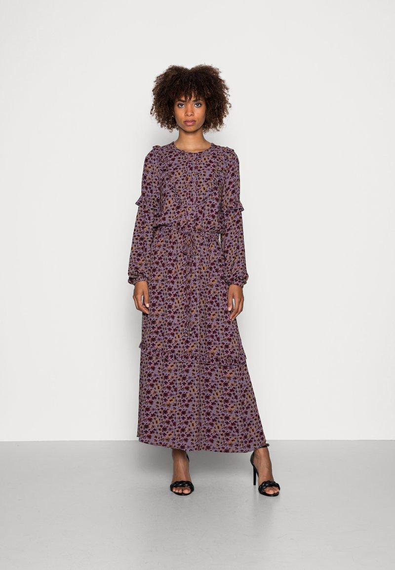 Thought - TABITHA FRILL MAXI DRESS - Maxi dress - amethyst grey