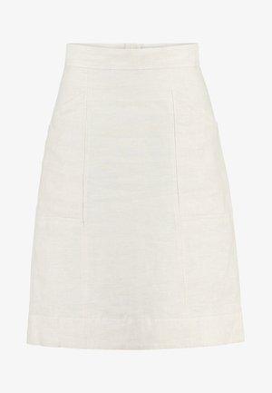 BASIC - A-line skirt - natural