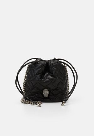 KENSINGTON DRAWSTRING - Across body bag - black