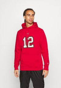 Fanatics - NFL TOM BRADY TAMPA BAY BUCCANEERS ICONIC NAME & NUMBER GRAPHIC  - Hoodie - game red - 0