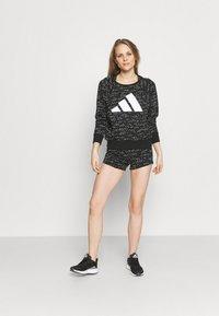 adidas Performance - SHORT - Leggings - black/white - 1